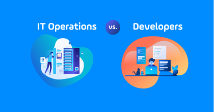 road to devops it operations versus developers