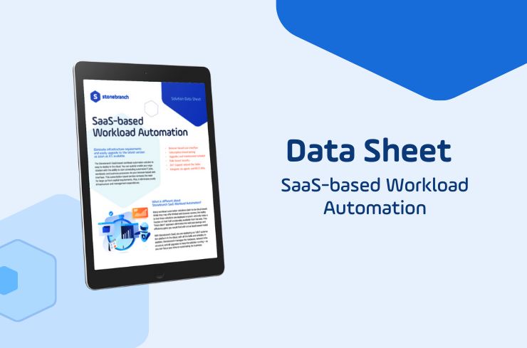 SaaS-based Workload Automation Download Data Sheet