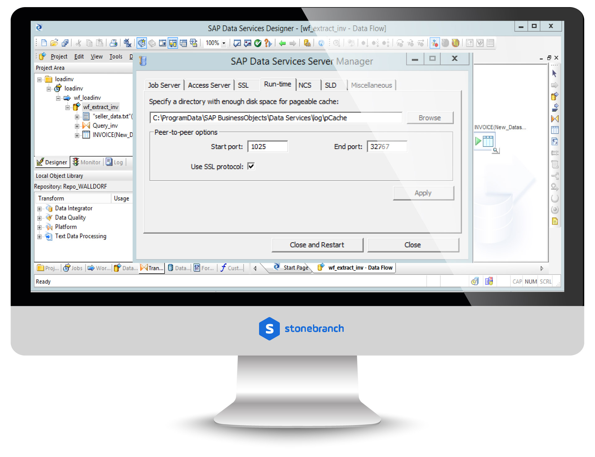 SAP: BusinessObjects Data Services