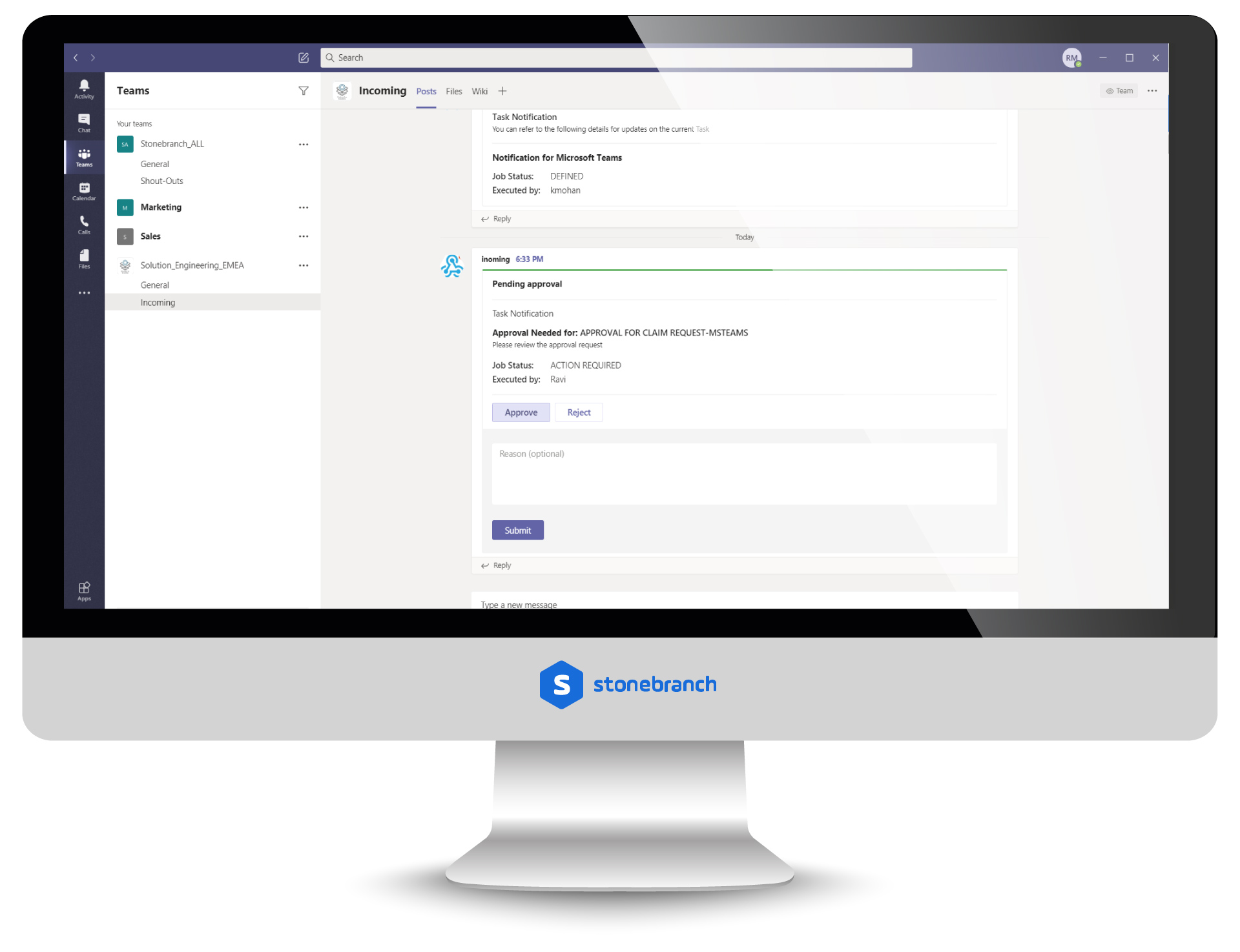 Microsoft Teams: Send and Receive Notifications