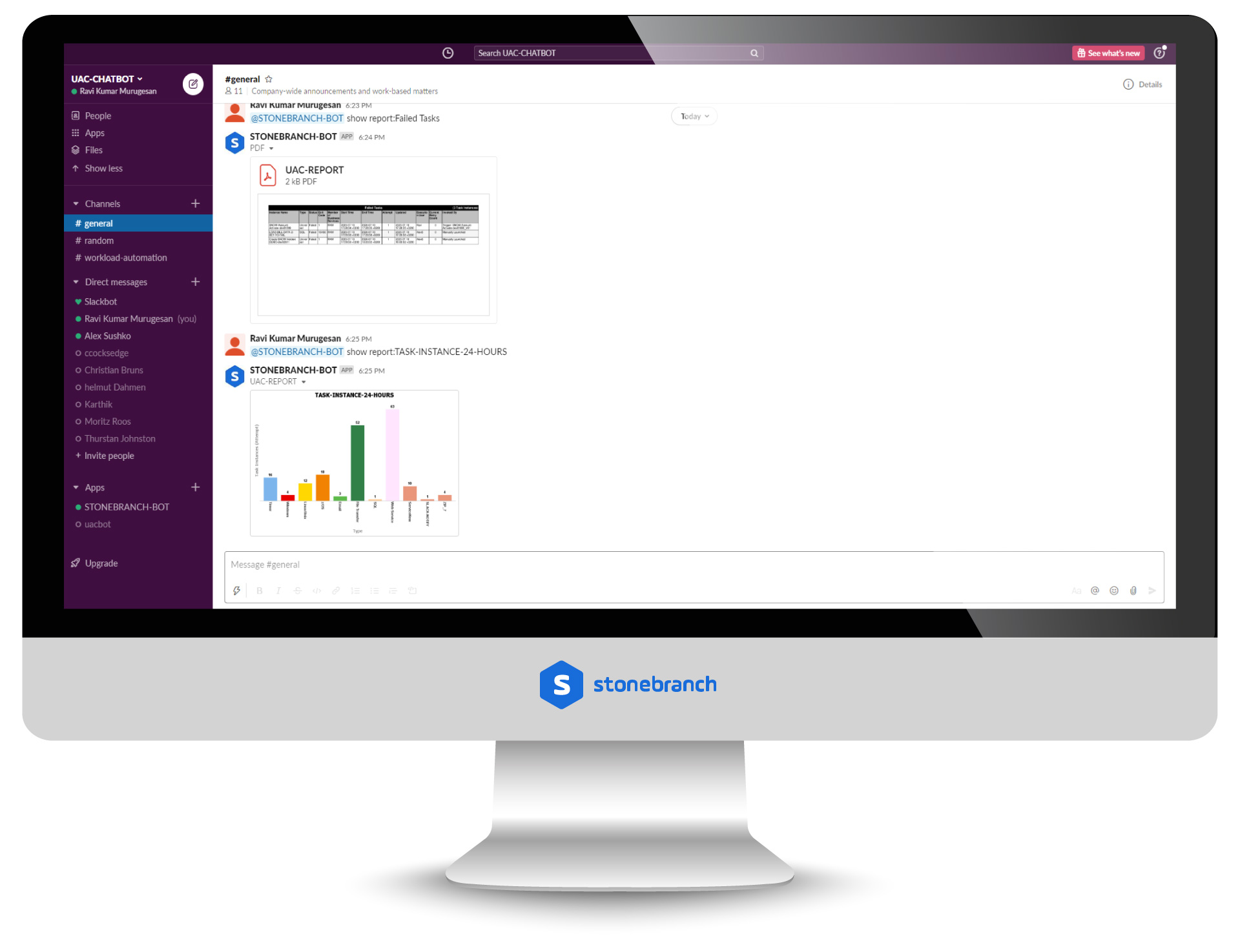 Slack: Send and Receive Notifications and Approvals